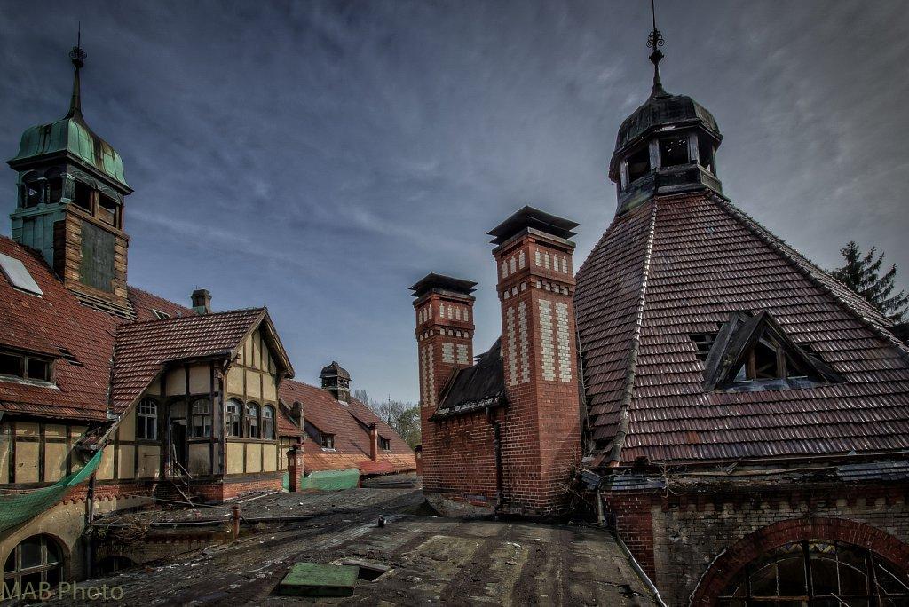 Über den Dächern von Beelitz